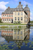 Castillo histórico Hovestadt en Westfalia, Alemania Foto de archivo