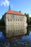 Castillo histórico Ludinghausen en Westfalia, Alemania Imagenes de archivo