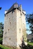 Castillo histórico Nordenbeck en Hesse, Alemania Foto de archivo libre de regalías