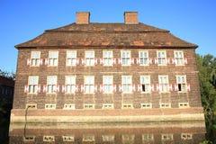 Castillo histórico Oberwerries en Westfalia, Alemania Imagen de archivo libre de regalías