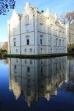Castillo histórico Scherpenzeel, los Países Bajos Foto de archivo libre de regalías