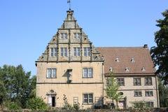 Castillo histórico Tienhausen en Westfalia, Alemania Fotos de archivo libres de regalías