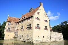 Castillo histórico Vischering en Westfalia, Alemania Fotos de archivo libres de regalías