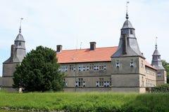 Castillo histórico Westerwinkel en Westfalia, Alemania Fotos de archivo