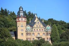 Castillo histórico Wolfsbrunnen en Baja Sajonia, Alemania Imagen de archivo