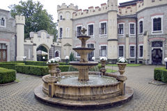Castillo Hluboka Fotografía de archivo