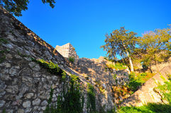 Castillo Hohen Gundelfingen fotos de archivo