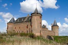 Castillo holandés Muiderslot Imagen de archivo