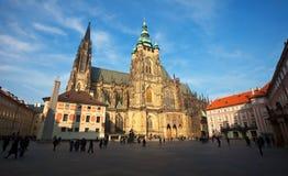 Castillo i de Praga Imágenes de archivo libres de regalías