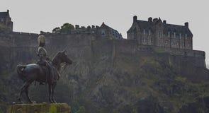 Castillo II de Edimburgo Fotografía de archivo