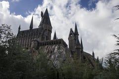 Castillo III de Hogwarts Imágenes de archivo libres de regalías