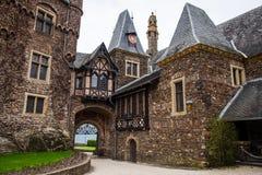 Castillo imperial de Cochem el Reichsburg Cochem Imágenes de archivo libres de regalías
