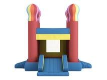 Castillo inflable Fotografía de archivo libre de regalías