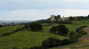 Castillo inglés fotografía de archivo libre de regalías
