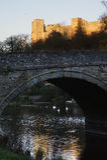 Castillo Inglaterra de Ludlow Imagen de archivo