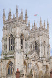 Castillo Inglaterra Reino Unido de la iglesia de monasterio de York Imagenes de archivo