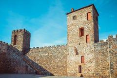 Castillo interior de Braganza Fotografía de archivo libre de regalías