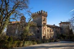 Castillo italiano Foto de archivo libre de regalías