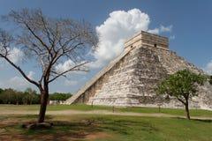 το castillo το itza Μεξικό EL Στοκ Φωτογραφία