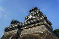 Castillo japonés Kumamoto Imagen de archivo