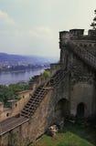 Castillo Koblenz, Alemania Foto de archivo libre de regalías