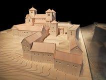 Castillo Kostelneuburg Imágenes de archivo libres de regalías