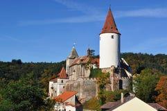 Castillo Krivoklat. República Checa fotos de archivo libres de regalías