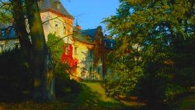 Castillo Ksiaz Polonia - imagen fotos de archivo libres de regalías