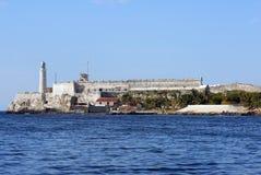 Castillo La Habana de Morro Imagen de archivo libre de regalías