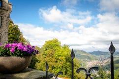 Castillo Liechtenstein Foto de archivo