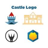 Castillo Logo Template libre illustration