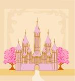 Castillo mágico Imágenes de archivo libres de regalías