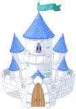 Castillo mágico ilustración del vector