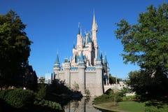 Castillo mágico del reino de Disneyworld foto de archivo libre de regalías