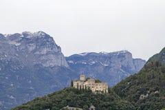 Castillo Madruzzo en Val Cavedine foto de archivo