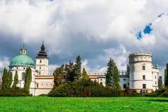 Castillo magnífico en Polonia, Europa Foto de archivo libre de regalías