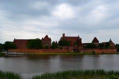 Castillo Malbork foto de archivo