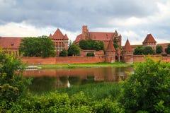 Castillo Malbork, Polonia Imagen de archivo libre de regalías