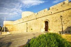 Castillo Manfredonia (Foggia, Puglia, Italia) Foto de archivo