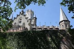 Castillo Marienburg en verano fotos de archivo libres de regalías