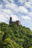 Castillo Maus en el valle del Rin Imagenes de archivo