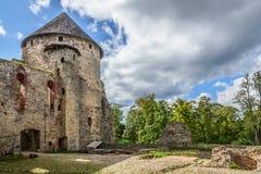 Castillo medieval Foto de archivo libre de regalías
