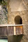 Castillo medieval Altfinstermunz, Austria Imagen de archivo libre de regalías