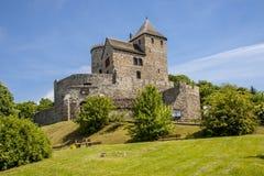 Castillo medieval - Bedzin, Polonia, Europa imagenes de archivo
