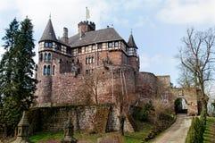 Castillo medieval Berlepsch en Alemania Fotografía de archivo libre de regalías