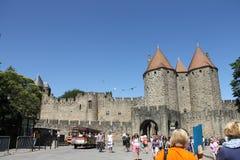 Castillo medieval de España Fotos de archivo