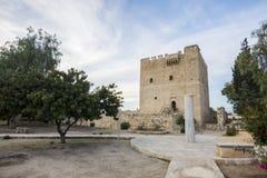 Castillo medieval de Kolossi en Limassol, Chipre Foto de archivo