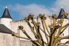 Castillo medieval de Noirmoutier en Francia Fotografía de archivo