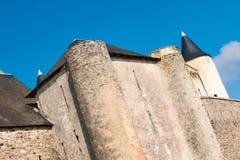Castillo medieval de Noirmoutier en Francia Foto de archivo libre de regalías