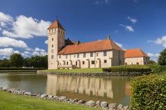 Castillo medieval de Tosterup Fotos de archivo